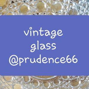 Vintage glass!!